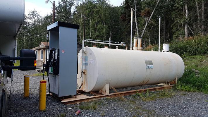 Tankstelle Alaska-Style