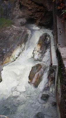 Die HauptQuelle der miette Hot Springs