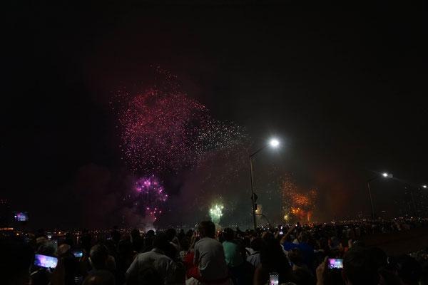 Feuerwerk am Independence Day
