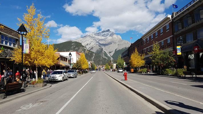 Das Städtchen Banff