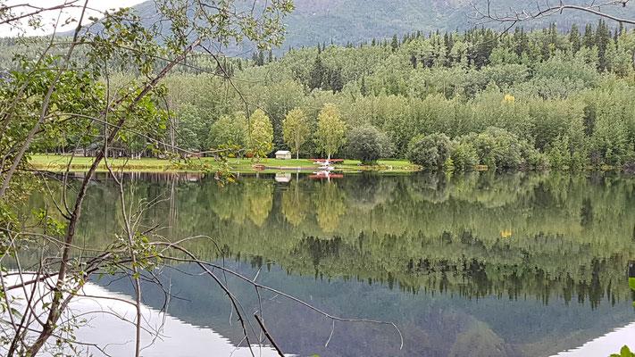 Hübsches Anwesen, sehr abgelegen im Nationalpark. Mit eigenem Wasserflugzeug