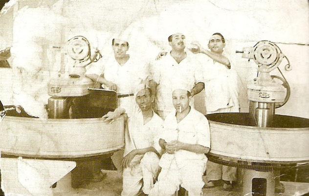 1953, boulangers de la Cubeta