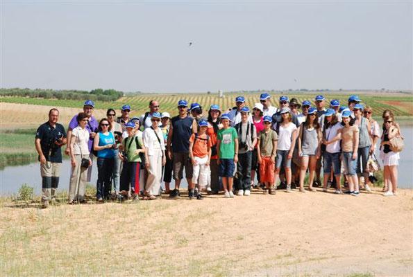 2010 - 1er voyage à Pedro Muñoz avec l'Etoile sportive et Sol en vigne