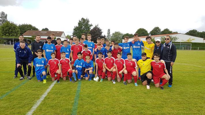 2019 - Europ'foot, les Pedroteños à Haute-Goulaine