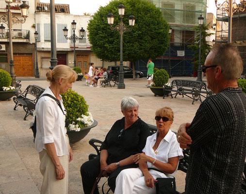 Vendredi 4 juin, rendez-vous Plaza de España
