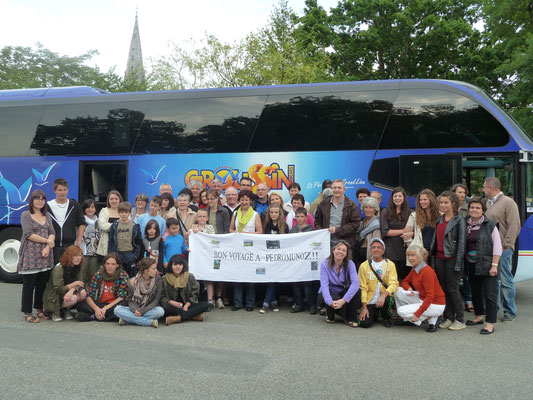 2011 - 2ème voyage, 1er Mayo Manchego