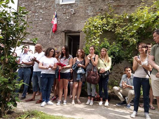 2015 - Inauguration de la CASA à Haute-Goulaine