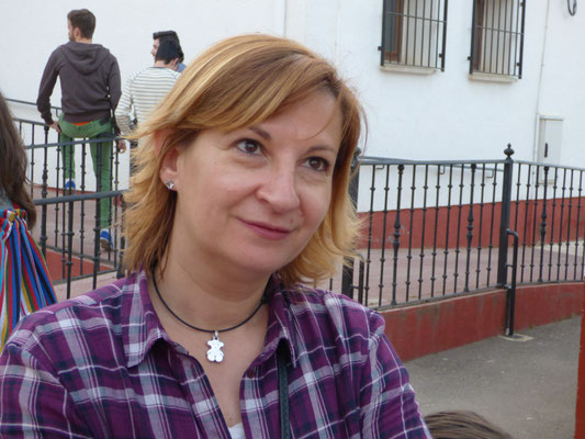Ana, Vice Présidente des Amigos de Haute-Goulaine