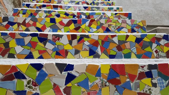 2019 - Escalier Trencadis à la CASA