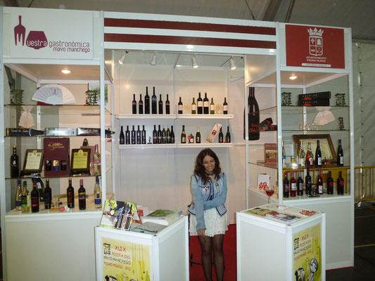 Le stand des viticulteurs