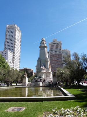 Monument Cervantes