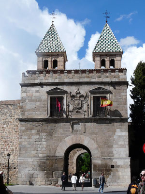 Porte de Bisagra, Puerta nueva de la Bisagra