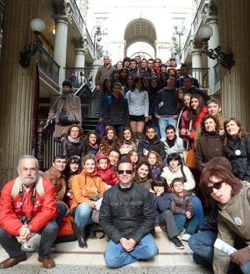 2012 - 1er voyage des pedroteños chez nous