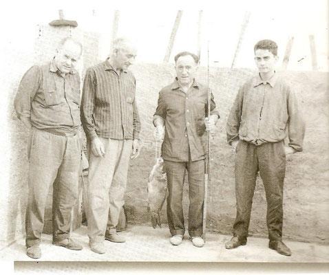 1950, pecheurs à Zancara