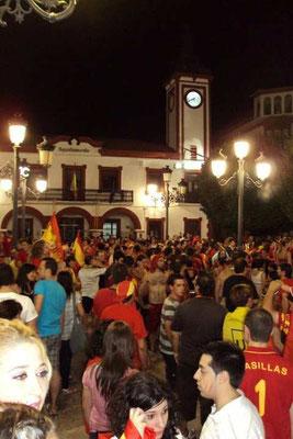 Espagne, Championne du Monde de football 2010