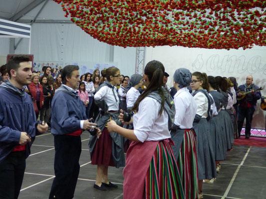 """Le groupe folklorique """"Virgen del Carmen"""""""