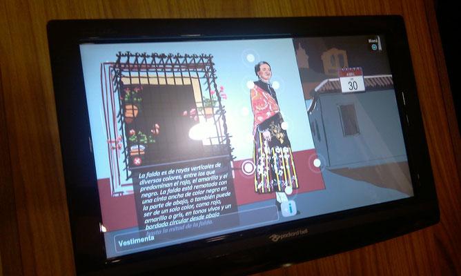 Des écrans tactiles dans chaque salle