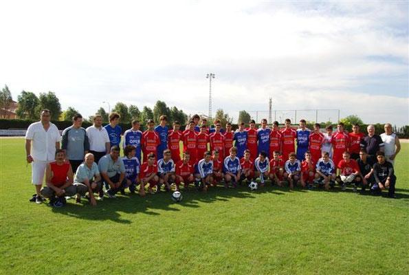 Les équipes de Pedro Muñoz et Haute Goulaine