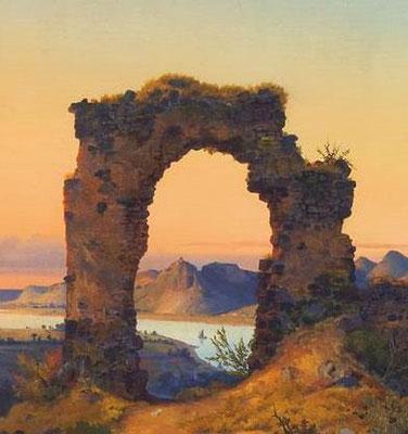 Rolandsbogen um 1800
