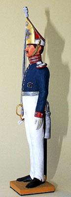 Offizier,  1. Garderegiment zu Fuß, um 1829