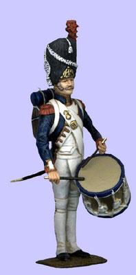 Tambour, 1. Regiment, Garde Impériale, Frankreich