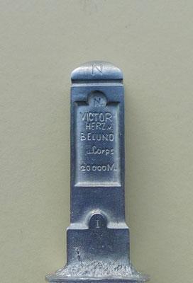 Apelstein Nr. 1 Victor Herzog von Belluno