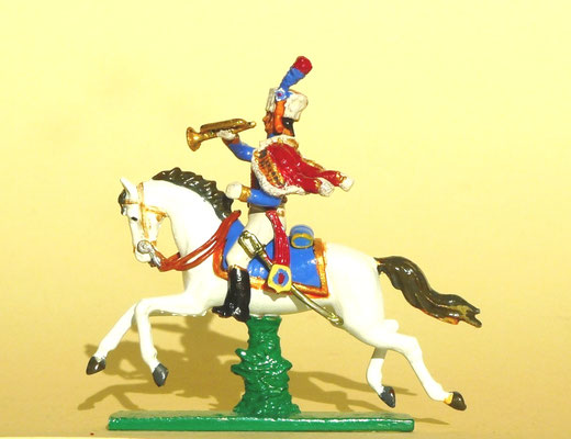 Trompete de Chasseurs á cheval de la Garde
