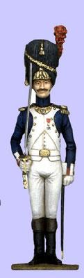 Alte Garde, Frankreich 1805-1815, Offizier