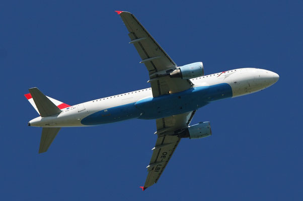 Austrian Airlines --- OE-LBI --- A320-214