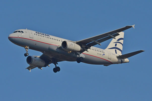 Aegean Airways --- SX-DVI --- A320-232