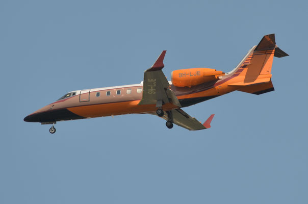 Hyperion Aviation --- 9H-LJE --- Learjet 60