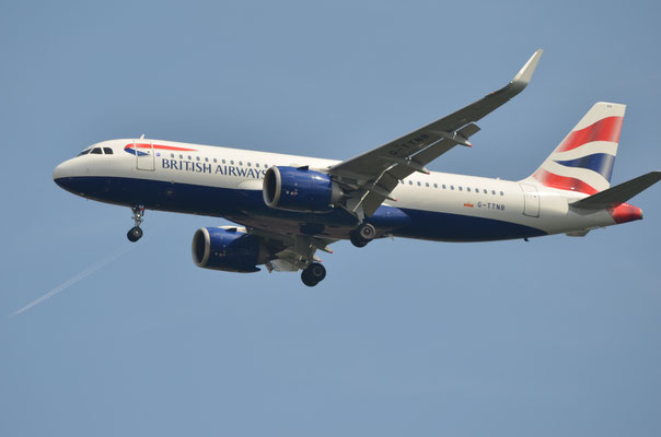 British Airways --- G-TTNB --- A320-251N