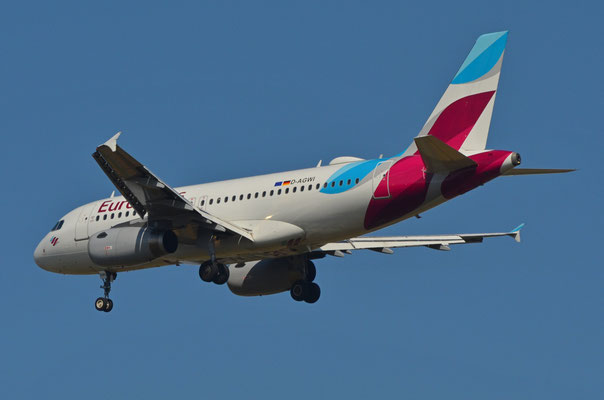 Eurowings --- D-AGWI --- A319-132