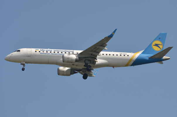 Ukraine International --- UR-EMA --- Embraer ERJ190STD