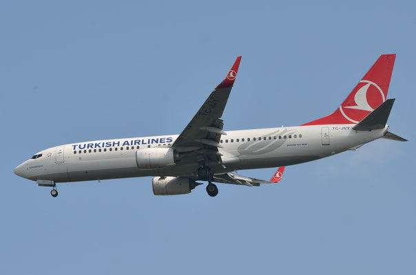 Turkish Airlines --- TC-JVY --- B737-8F2W