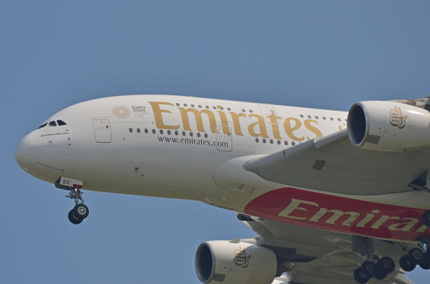 Emirates Airlines --- A6-EDC --- A380-861