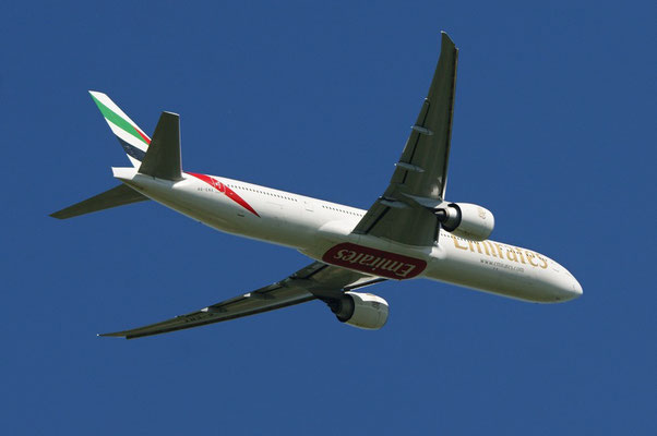 Emirates Airlines --- A6-ENX --- B777-31HER