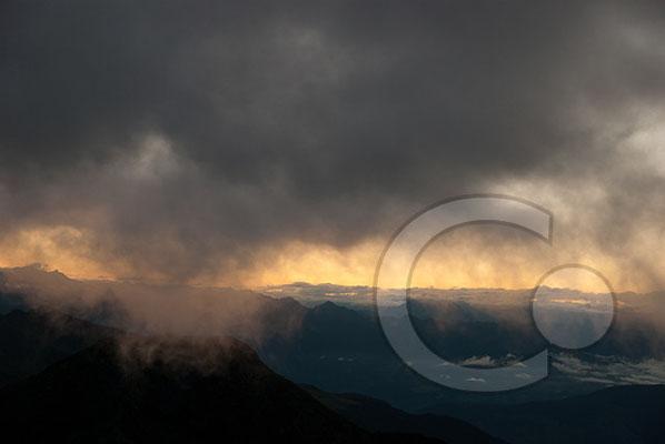 120807_DSC0330 Sonnenaufgang von der Kassianspitze Südtirol Italien