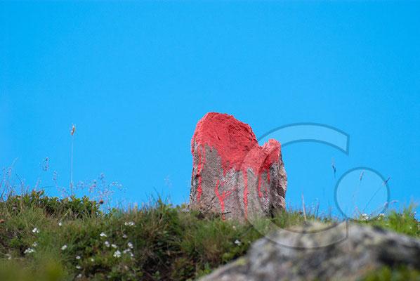 120807_DSC0437 Wegzeichen Südtirol Italien