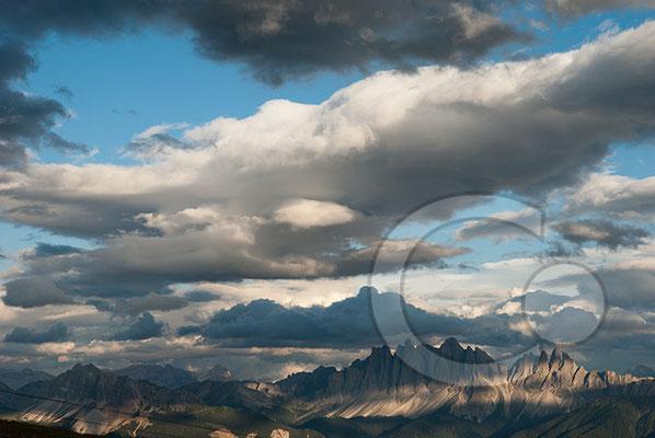 120809_DSC0828 Wolken Alpenglühen Südtirol Italien