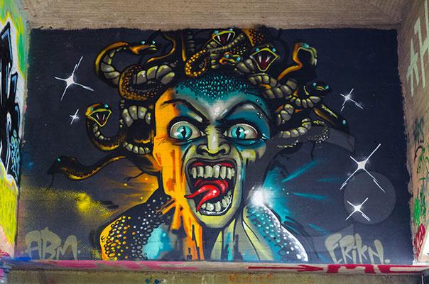140604_RAW7798 Rheine - Graffito unter Emsbrücke