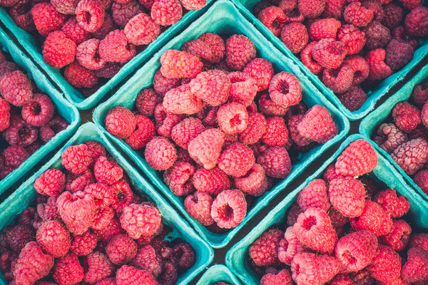 Fresh Raspberries Food Hub