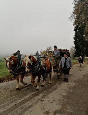 Leonhardifahrt Schalkfrauen in Lippertskirchen 2019