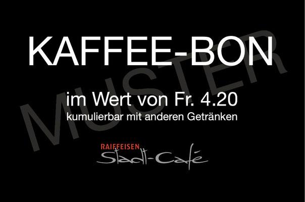 Gutscheine und Kaffee-Bons