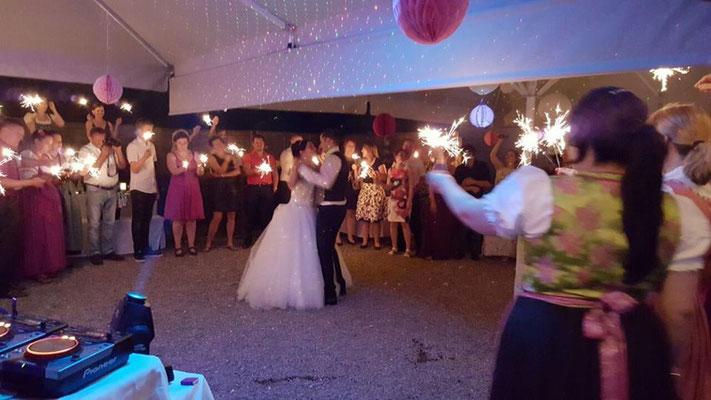 Zelt Hochzeit