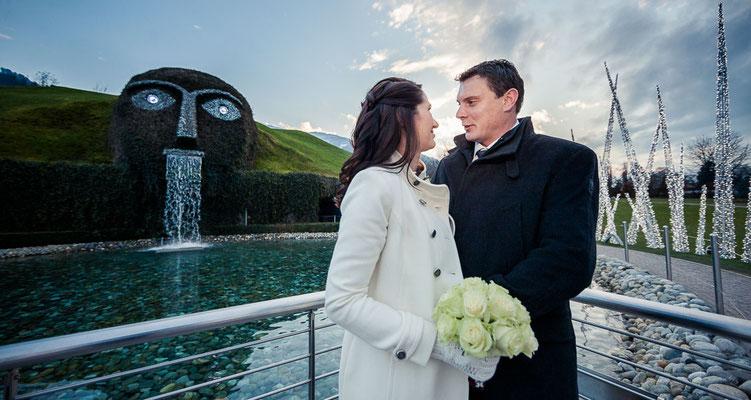 Hochzeit Swarovski Kristallwelten Österreich