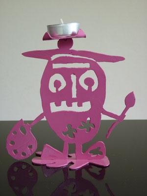 Glottino pittore - Colore: Rosa - Misure cm: