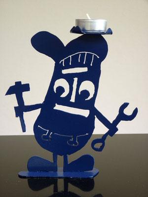Glottino mechanic - Color: Blue - Size cm: