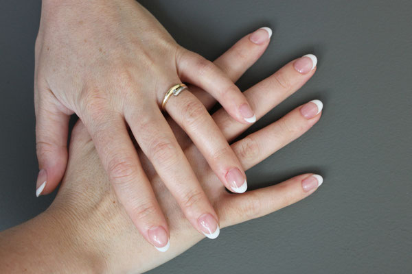 French Manicure gelnagels
