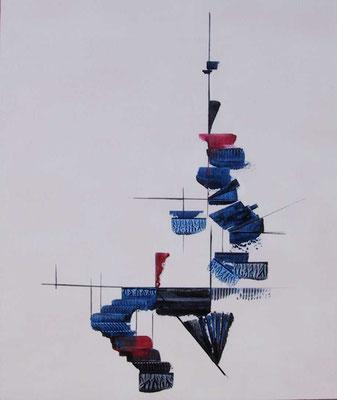 """""""Barnstorf"""", Malplatte 50 x 40,  in Privatbesitz"""